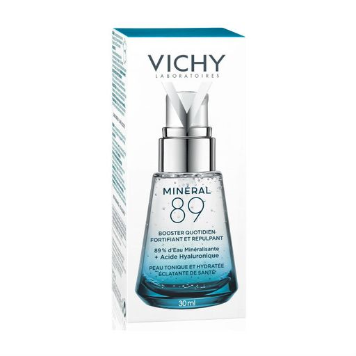Vichy Mineral 89 гель-сыворотка, 30 мл, 1 шт.